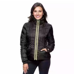 Halifax Traders packable Feather puffer jacket M